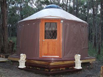 Meditation Yurt
